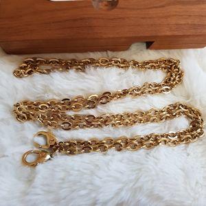 Louis Vuitton Felicie Gold Chain